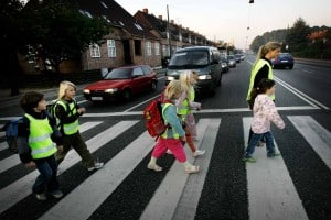 Barn i trafik