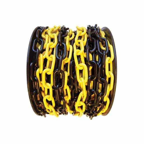Plastkätting svart och gul