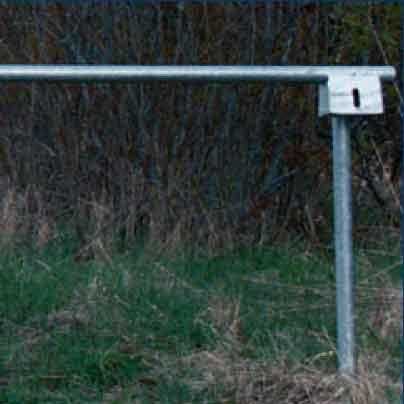 låset för väggrinden