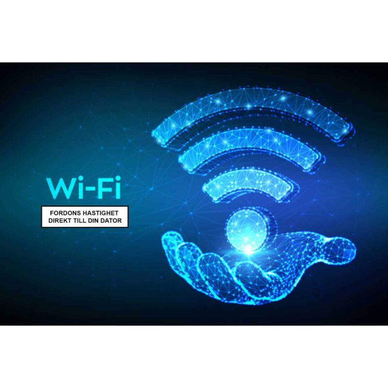 wifi hastighetsdisplay