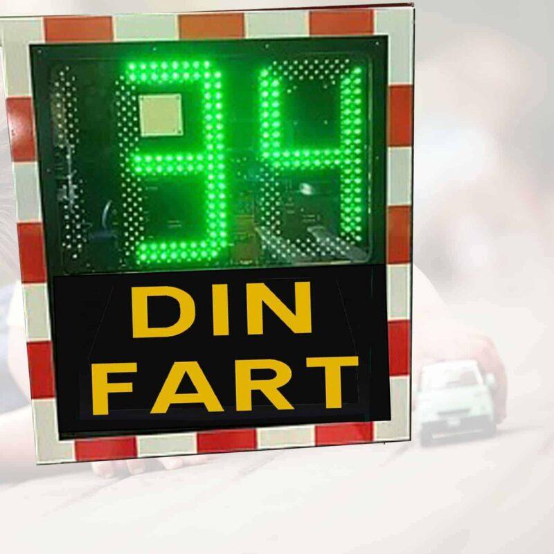 hastighetsdisplay 30 håll hastigheten